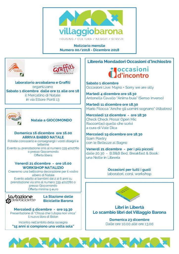 2018 12 01 - Villaggio Barona - Mese di Dicembre_Pagina_1